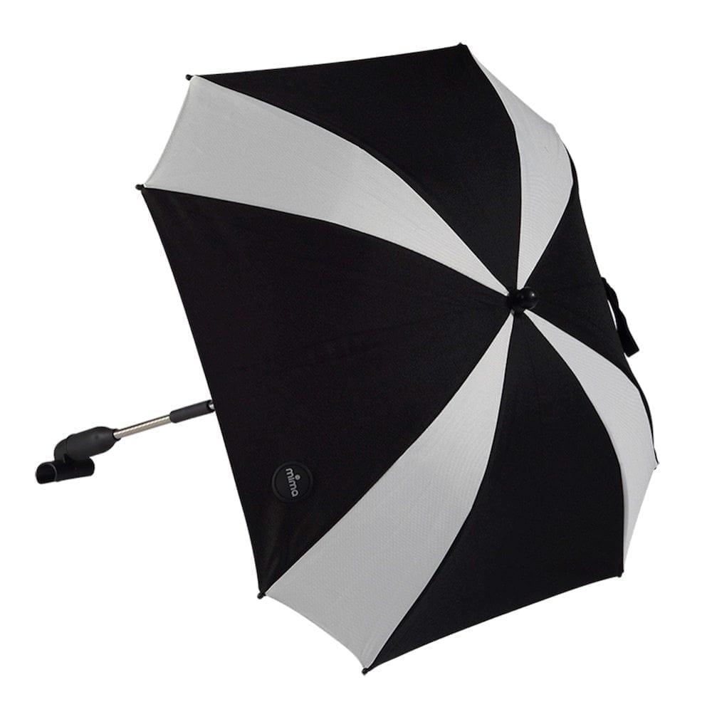 Mima Xari Parasol Black White Stripe