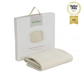 little_green_sheep_waterproof_cot_mattress_protector