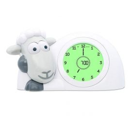 Zazu Sam Sleep Trainer Clock Grey