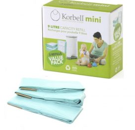 Korbell Nappy Bin Mini Refill Pack