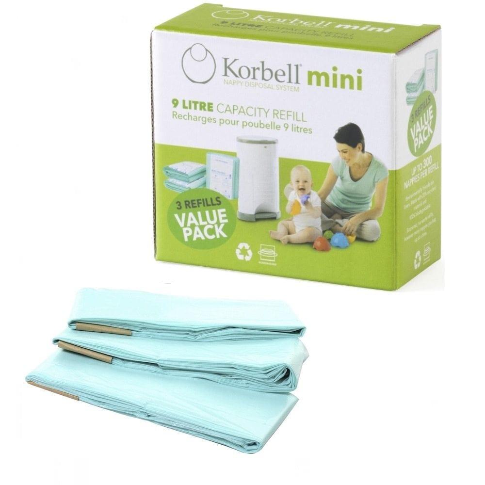 Korbell Nappy Bin Mini Refill Pack