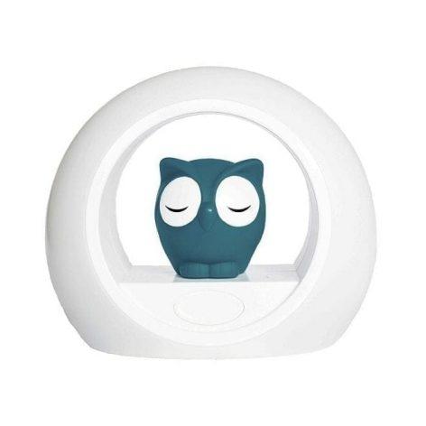 ZaZu Lou Owl Nightlight Blue