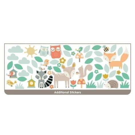 Woodland Tree & Friends Large Character Additional Stickers – 44647