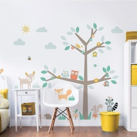 Walltastic Large Woodland Wall Stickers