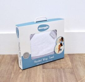 Shnuggle Hooded Baby Towel Wrap
