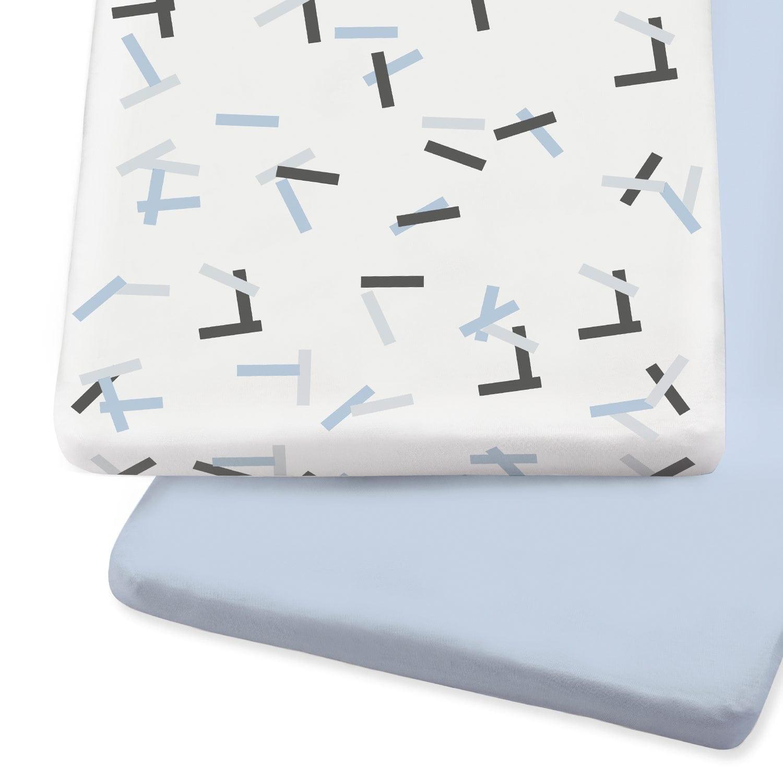 SnuzPod Crib Sheets Breeze