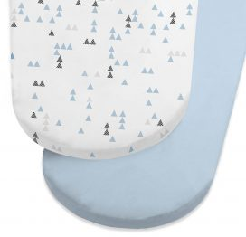 Snuz Designz Moses Basket Sheets Breeze