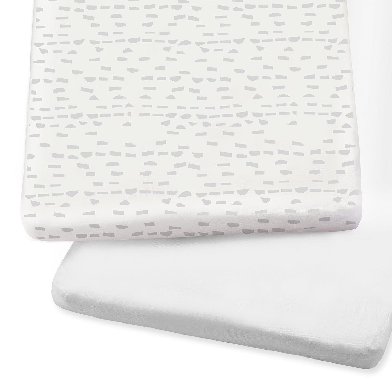 SnuzPod Crib Sheets Grey