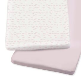 SnuzPod Crib Sheets Rose