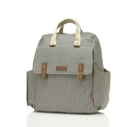 Babymel Robyn Navy Stripe Convertible Backpack