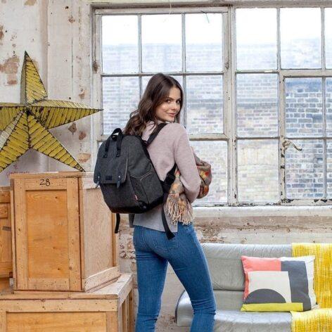 babymel-robyn-tweed-backpack-lifestyle