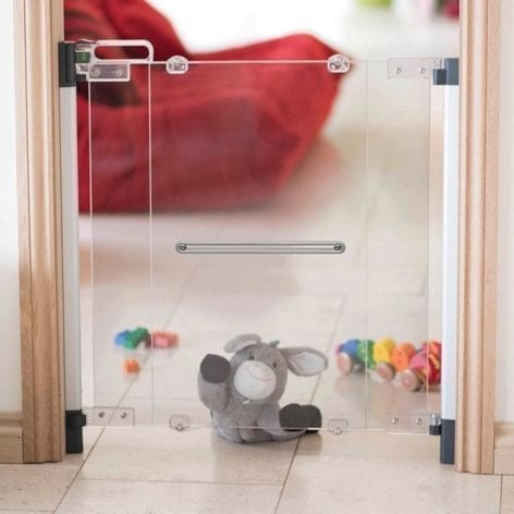 Fred Clear View Screw Fit Child Safety Gate