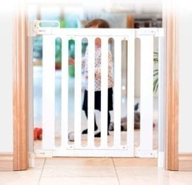 Fred White Wood Screw Fit Child Safety Gate