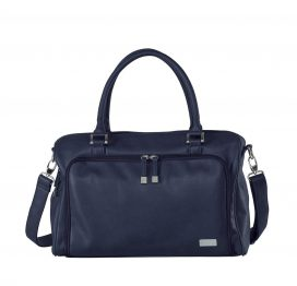 Isoki Double Zip Satchel Tote Navy