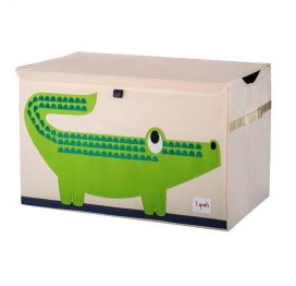 3 Sprouts Toy Chest Green Crocodile