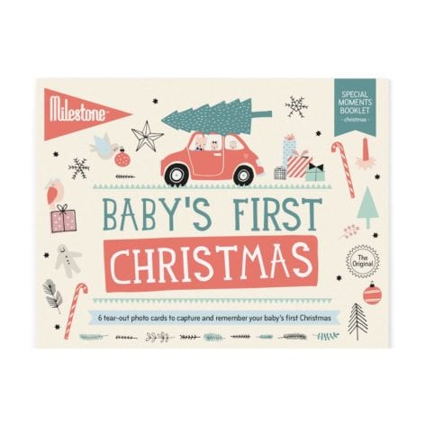 Milestone Baby Photo Cards My First Christmas