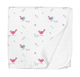 Silly Billyz Pram Blanket Birdy