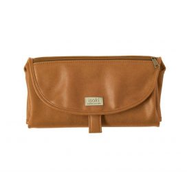 Isoki Change Mat Clutch Chestnut Tan