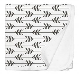 Silly Billyz Pram Blanket Arrows