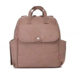 Babymel Robyn PU Dusty Pink Convertible Backpack