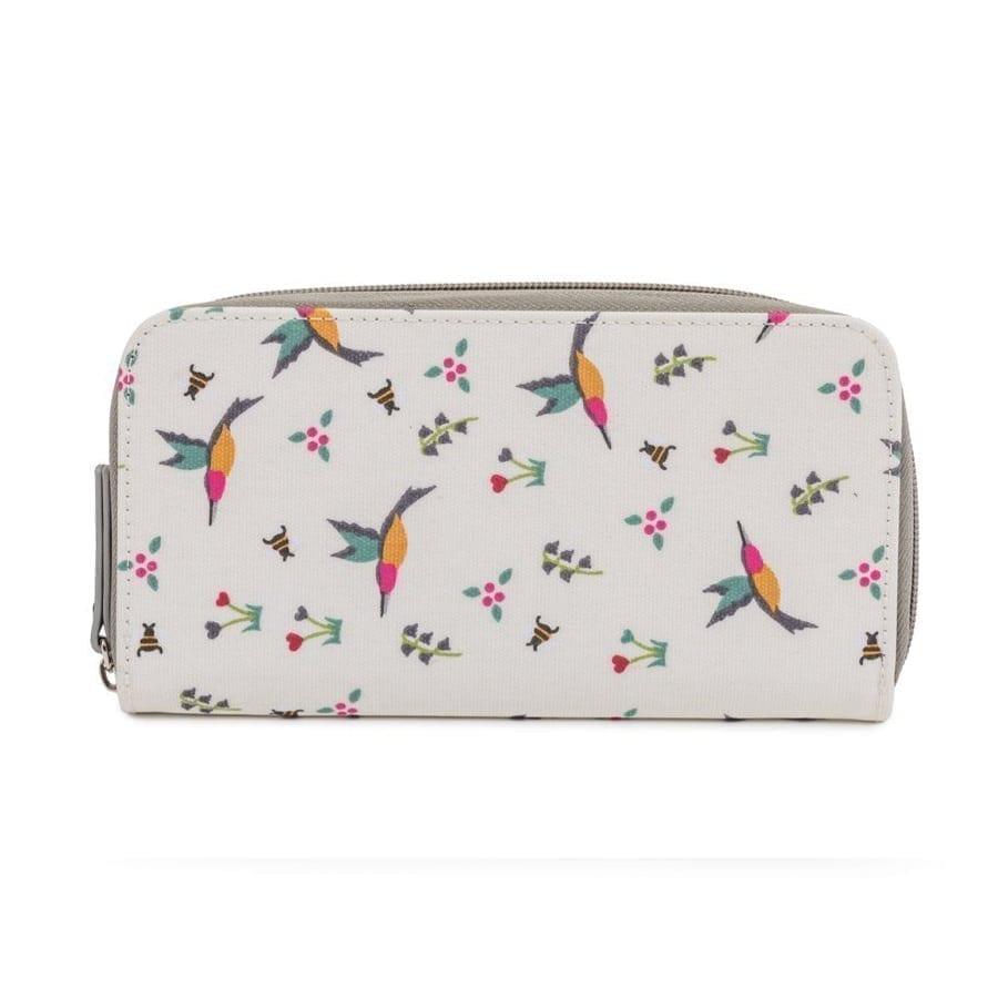 Pink Lining Wallet Hummingbird