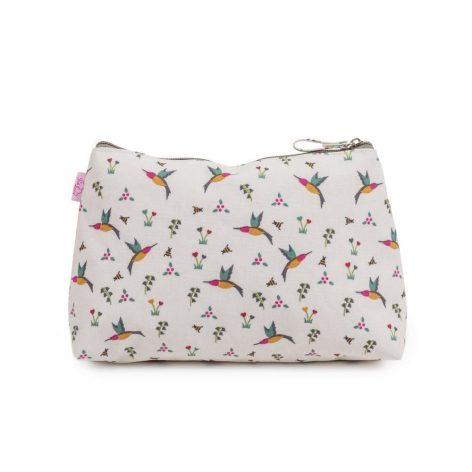 Pink Lining Wash Bag Hummingbird