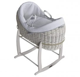 Clair de Lune Over The Moon Noah Pod White Wicker