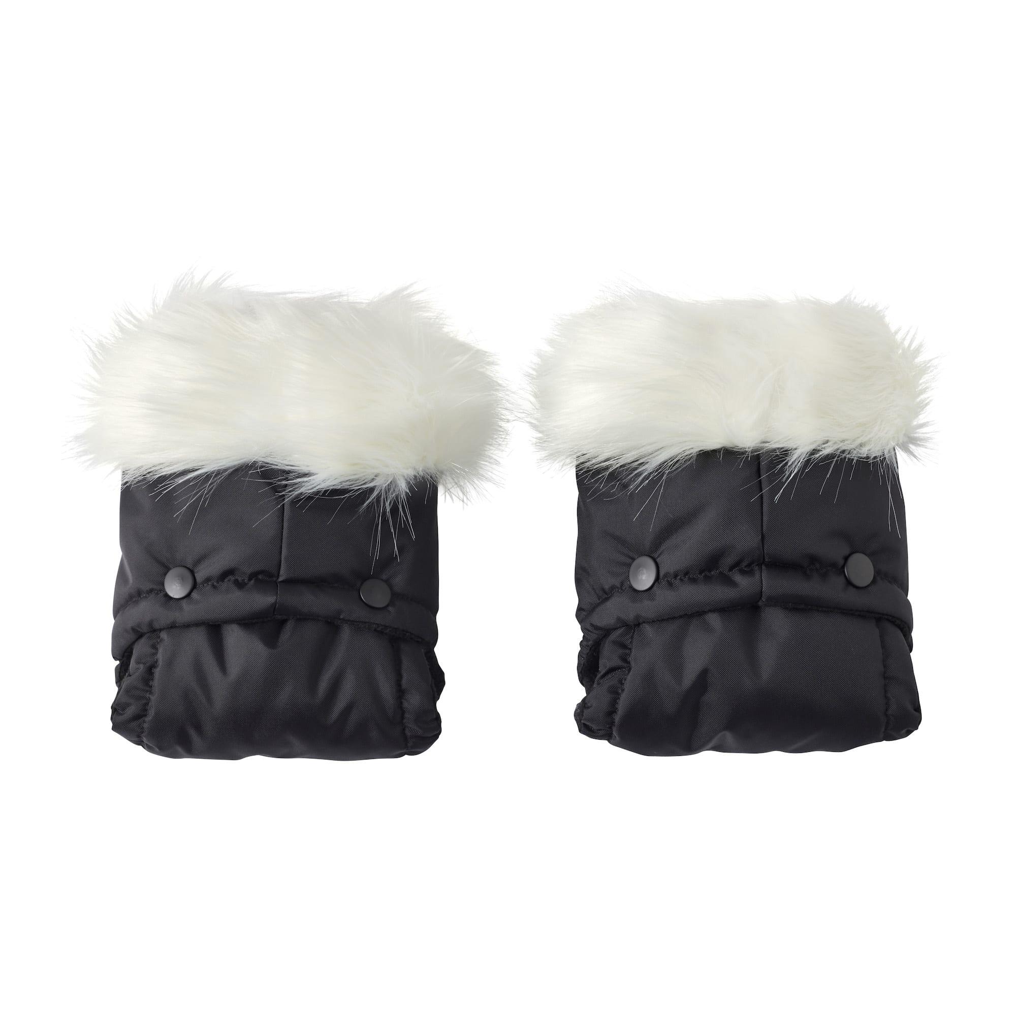 Pushchair//Pram Faux Fur Hood Trim