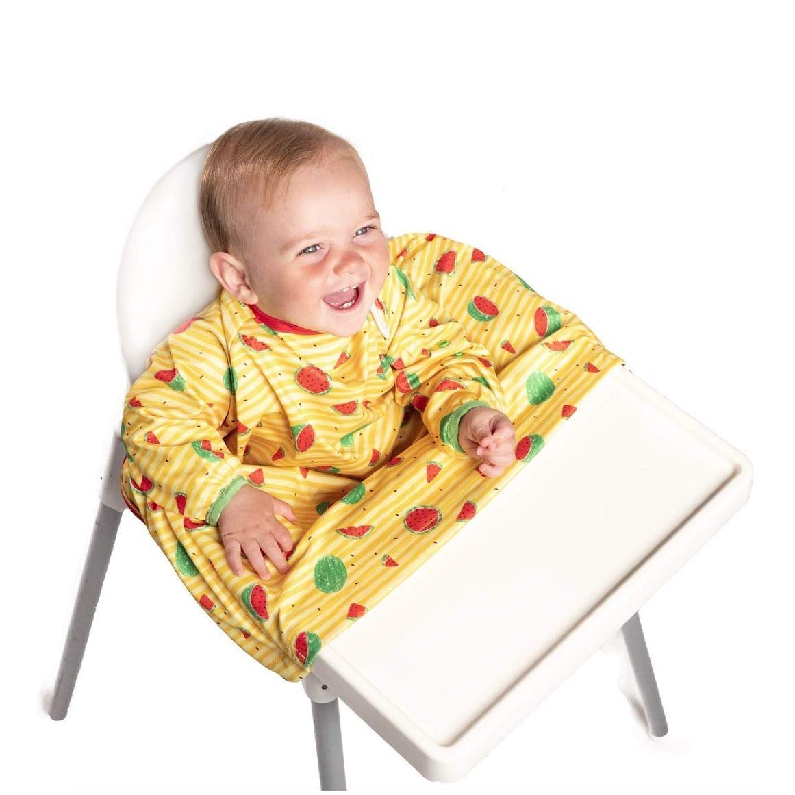 BIBaDO Baby Led Weaning Bib Yellow