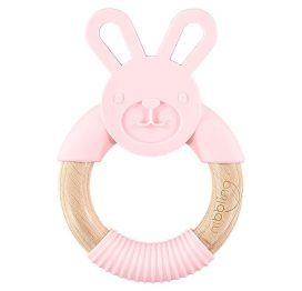 Nibbling Forest Friends Bo Bunny Teether Pink