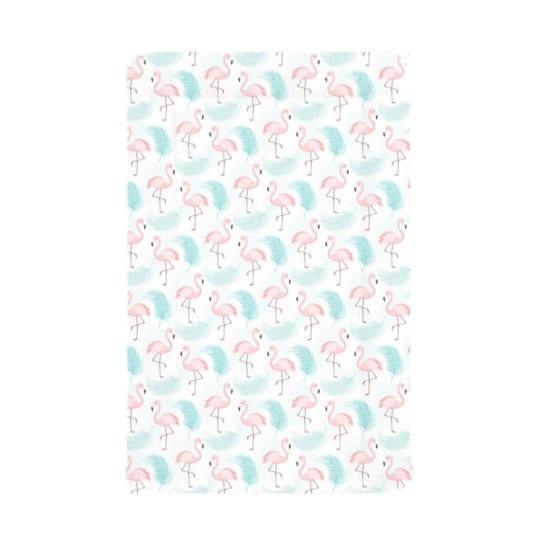 Blue Flamingo Baby Changing Mat