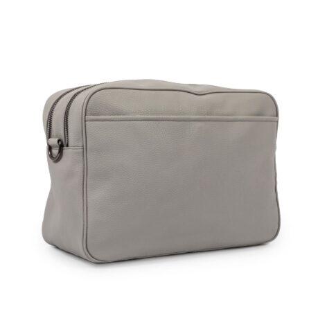 Pink Lining Hoxton Vegan Leather Cross Body Bag Grey