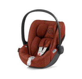 Cybex Cloud Z i-Size Car Seat Plus Autumn Gold/Burnt Red