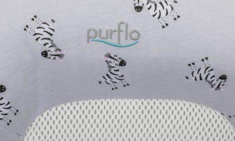 PurFlo Purair Breathable Nest Zebra