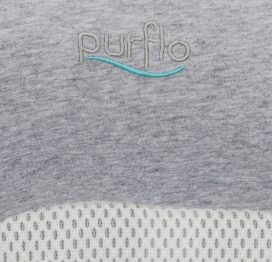 PurFlo Purair Breathable Nest Maxi Marl Grey