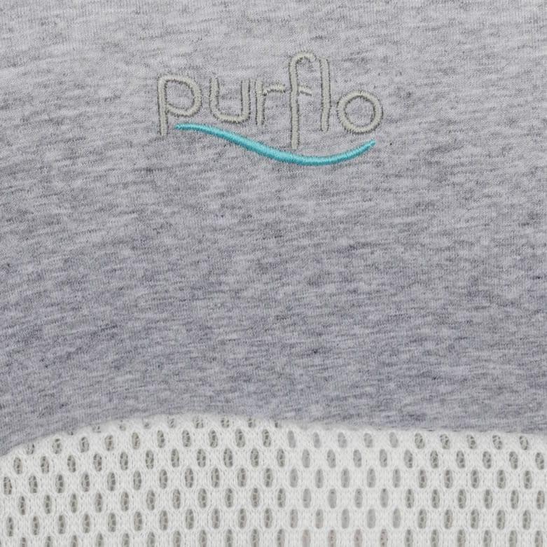 PurFlo Purair Breathable Nest Maxi Marl Grey