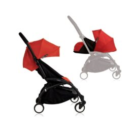 Babyzen YOYO+ Stroller from Newborn Black Red