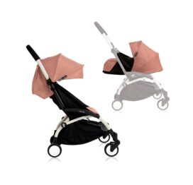 Babyzen YOYO+ Stroller from Newborn White Ginger