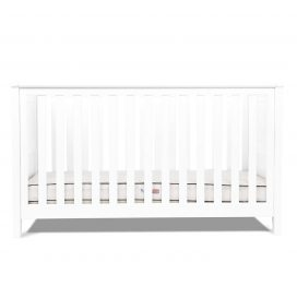Silver Cross Nostalgia Cot Bed Pure White
