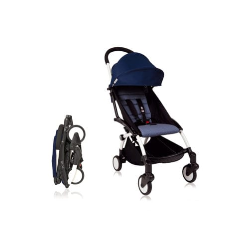 Babyzen YOYO+ Stroller 6m+ White Air France