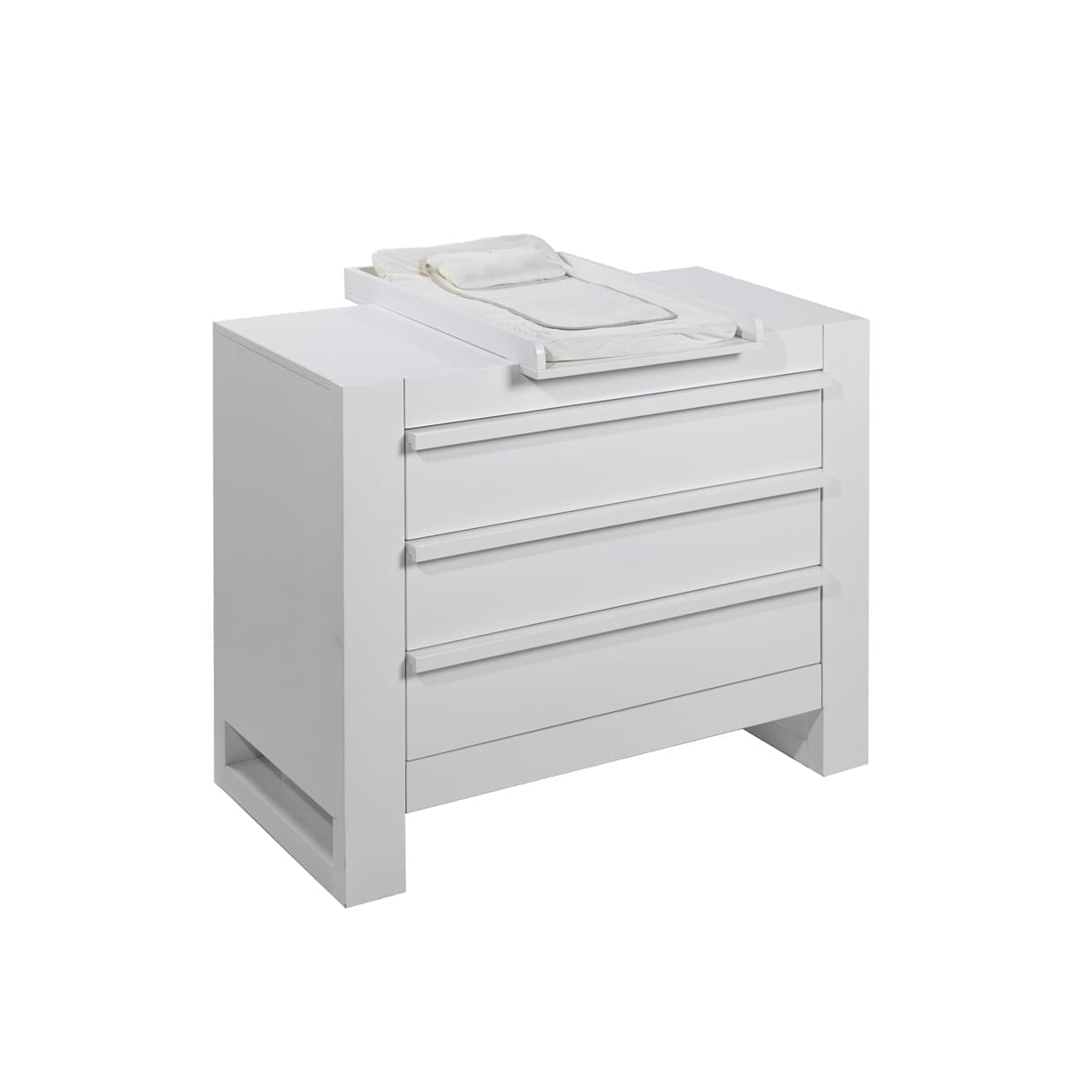 Tutti Bambini Rimini Chest Changer - High Gloss White