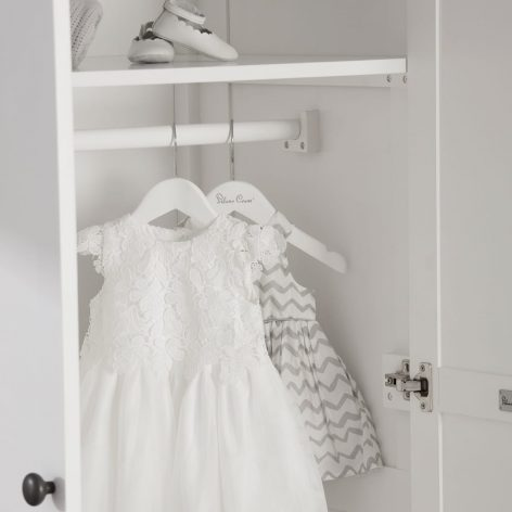 Silver Cross Nostalgia Wardrobe Pure White