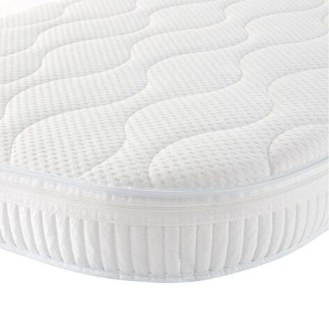 Gaia Baby Complete Sleep Mattress All White