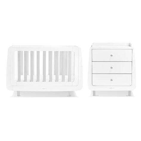SnuzKot Mode 2 Piece Nursery Furniture Set Grey