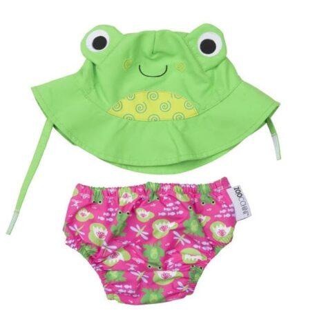Zoocchini Swim Set Frog
