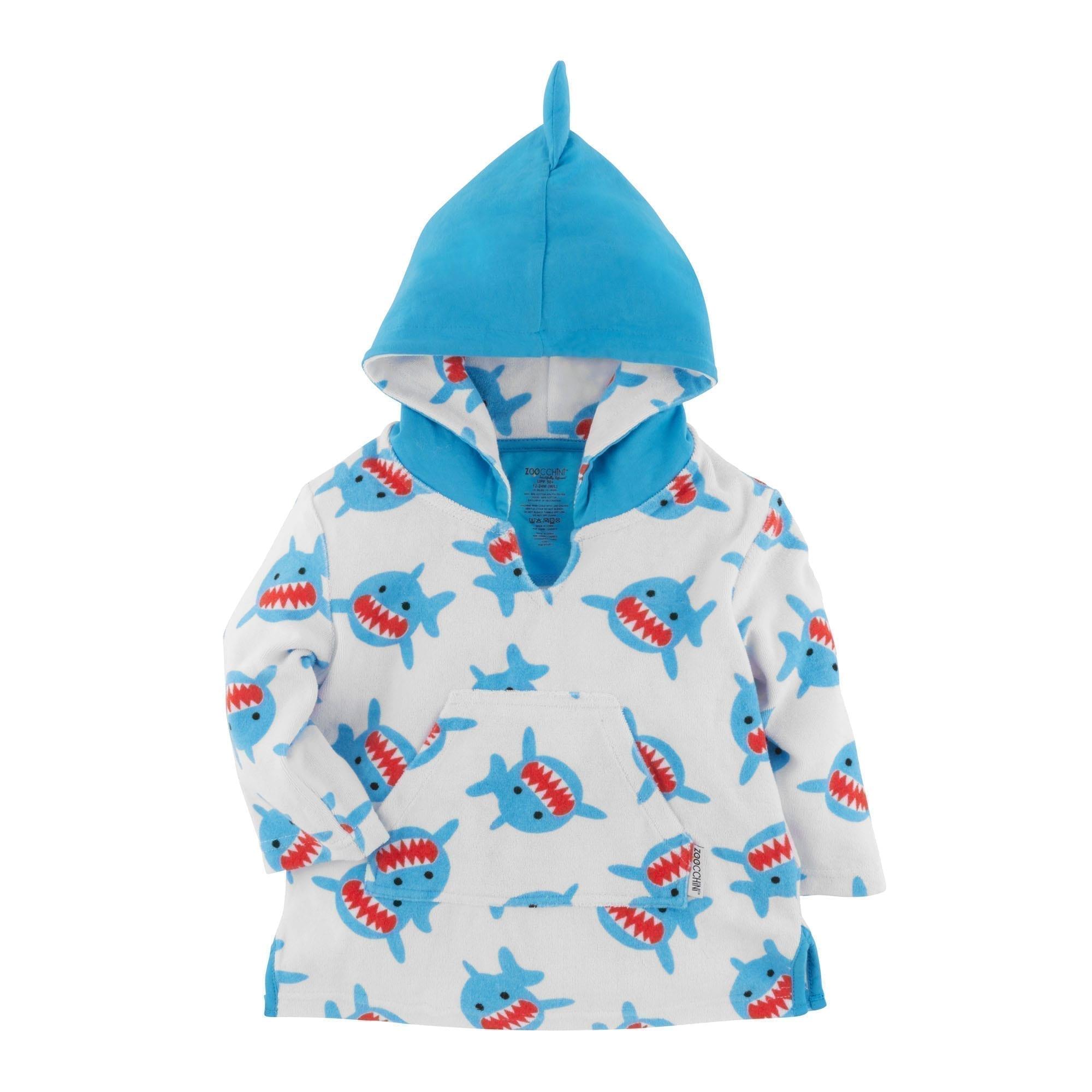 Zoocchini Hooded Towel Shark