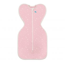 Love to Dream Swaddle Up Lite Pink Stars