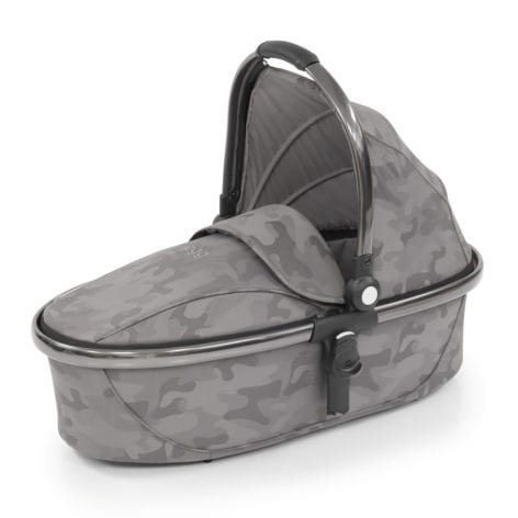egg Carrycot Camo Grey