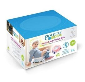 Potette Plus Disposable Liners 60 Pack