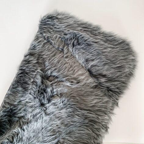 Bozz Sheepskin Wool Liner Charcoal